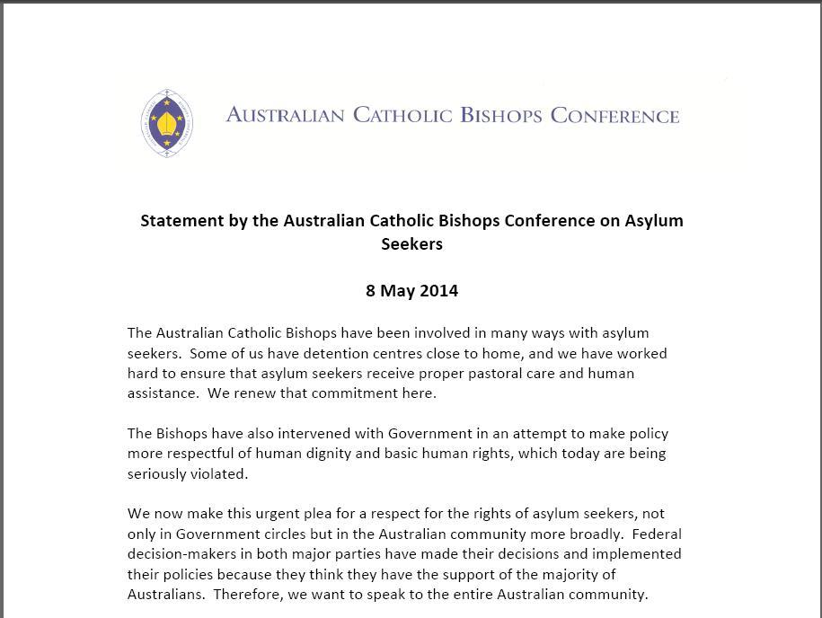 ACBC Asylum seekers