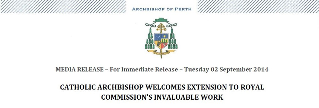 Media release Royal commission