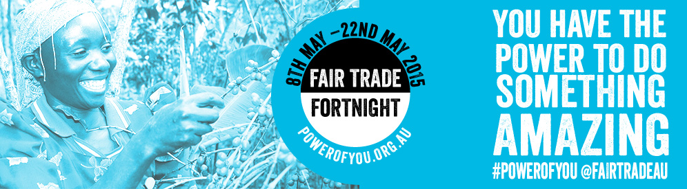 Fair trade fortnight banner