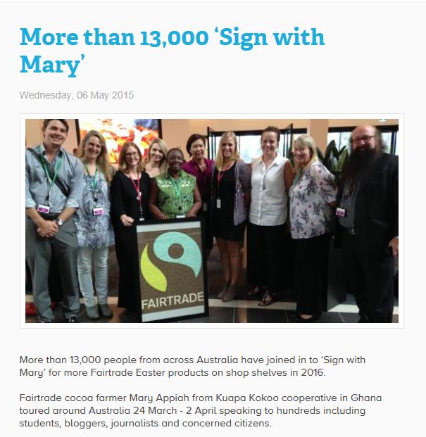 More than 1300 sign with mary