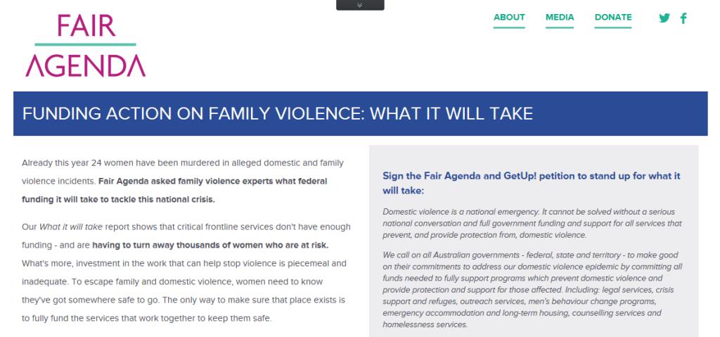 fair agenda petition