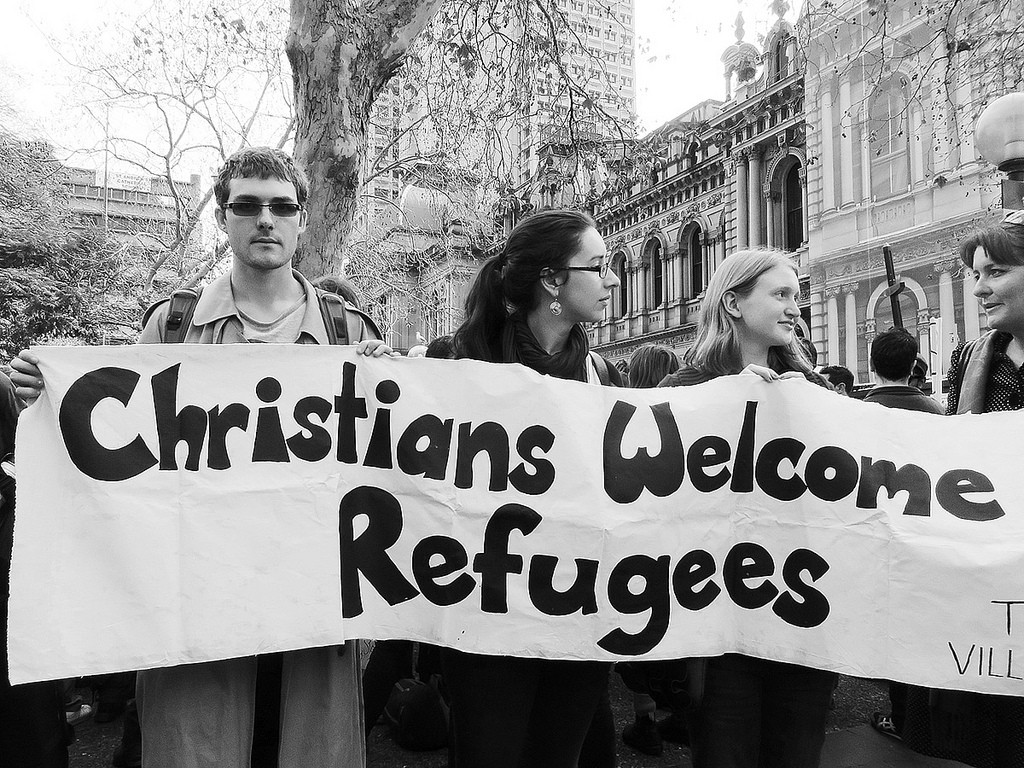 Christians Welcome Refugees - refugee week reflection