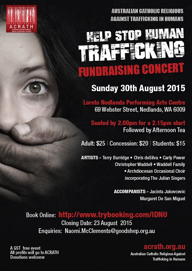 Help stop human trafficking picture