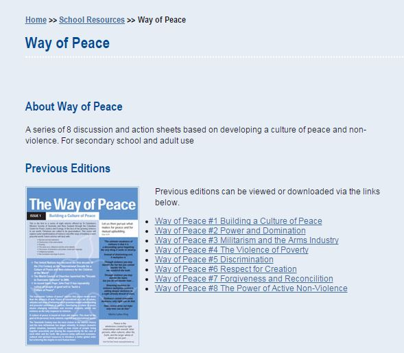 Columbcan Mission society - way of peace
