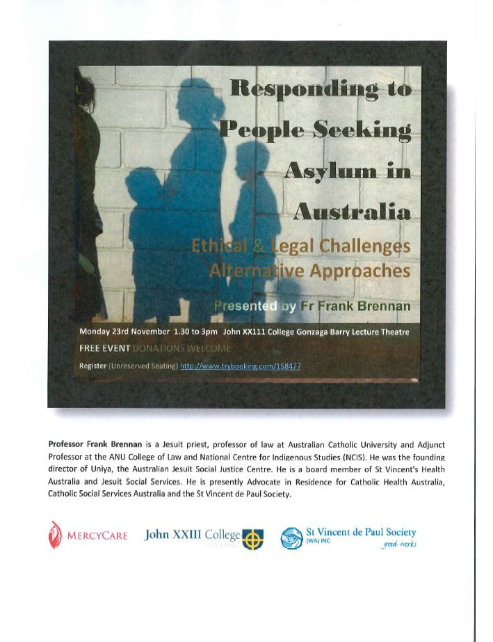 Responding to People Seeking Asylum Image