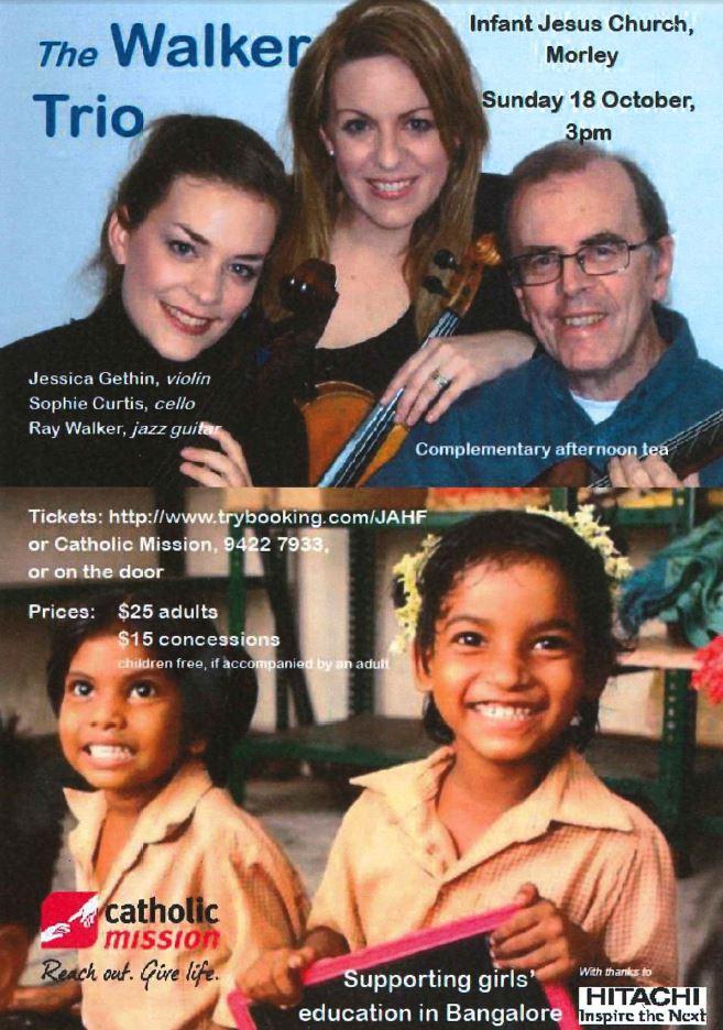 Walker Trio Concert
