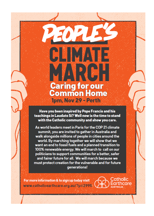 Climate march detailed