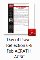 Day of Prayer Reflection icon