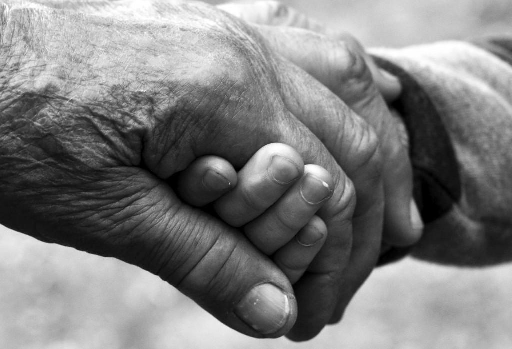Aged hand