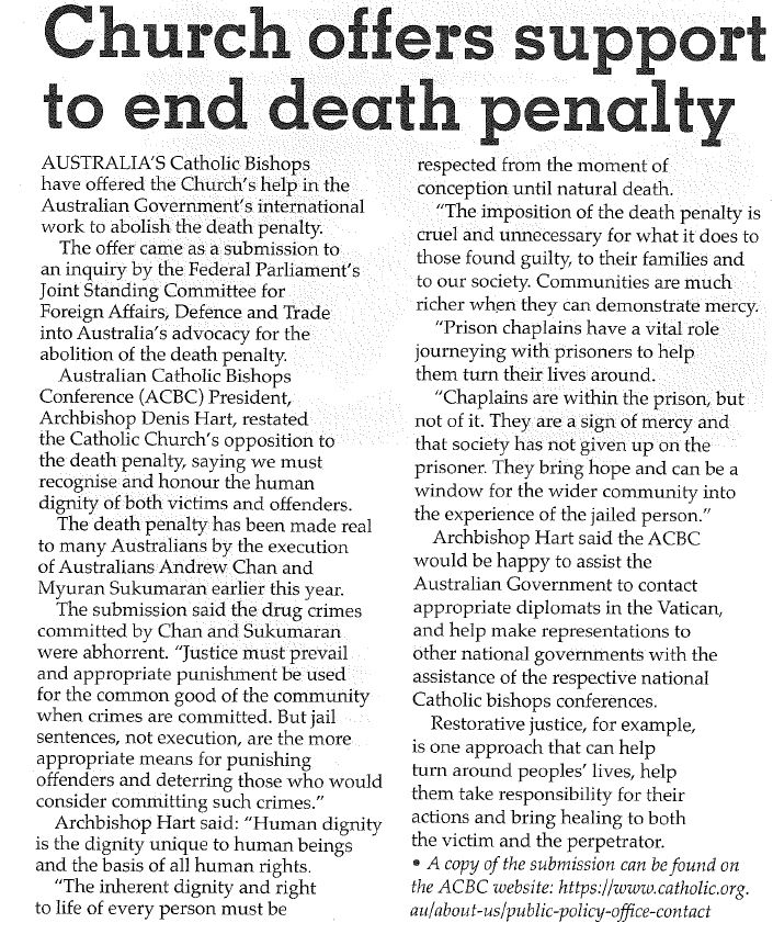 death penalty abolition