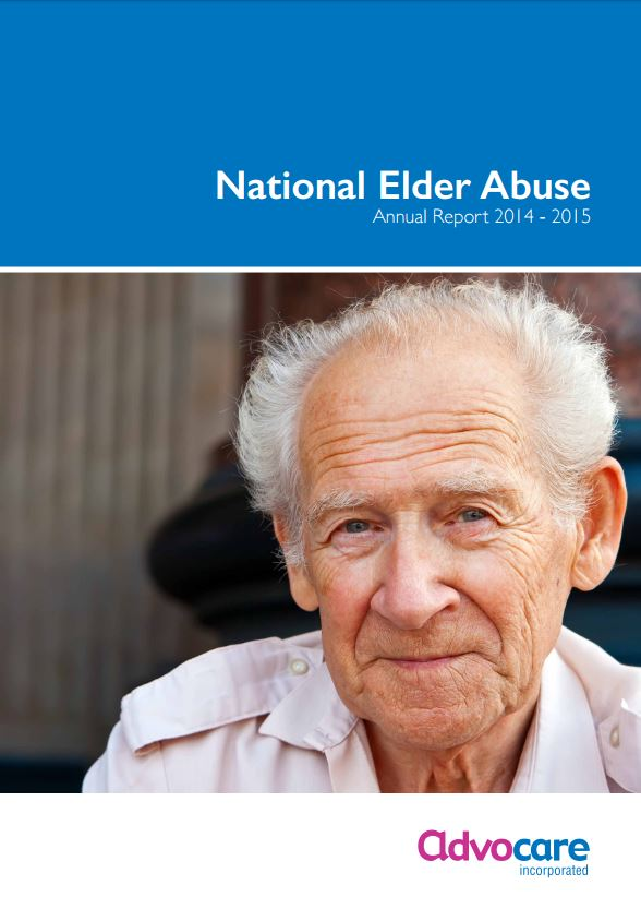 Advocare elder abuse report