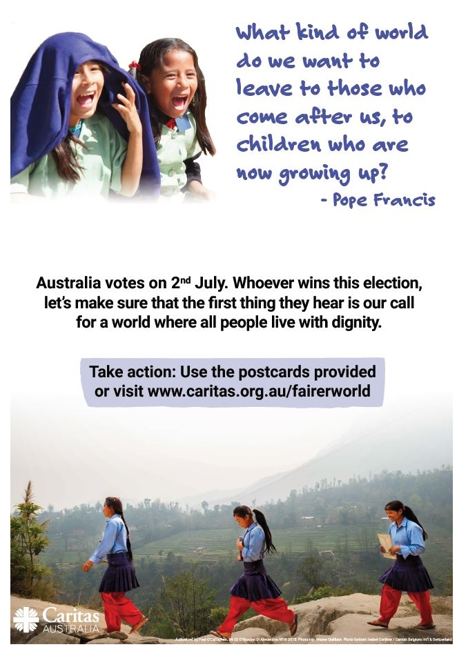 Caritas Fairer World