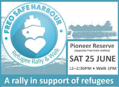 Freo refugee rally