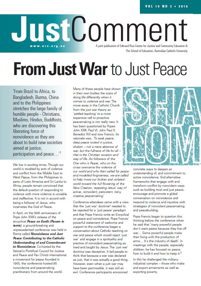 Just War Article Image
