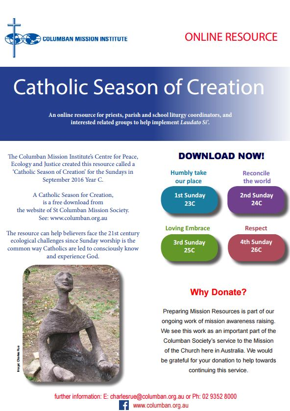 Catholic Season of Creation Resource