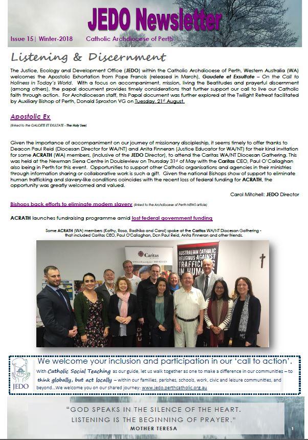 JEDO-Newsletter-Issue-15